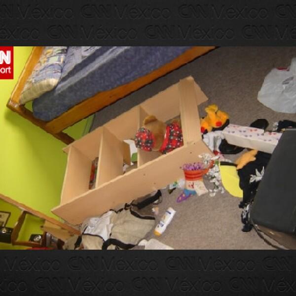 Interior de un departamento en Chile tras el sismo
