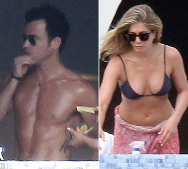Emily Blunt, John Krasinski, Jimmy Kimmel y su prometida Molly McNearney alcanzaron a la pareja en sus vacaciones.