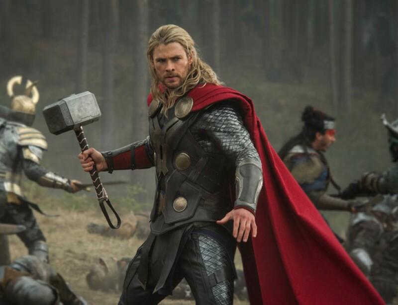 El papel de Thor le ha dado a Chris fama y popularidad mundial.