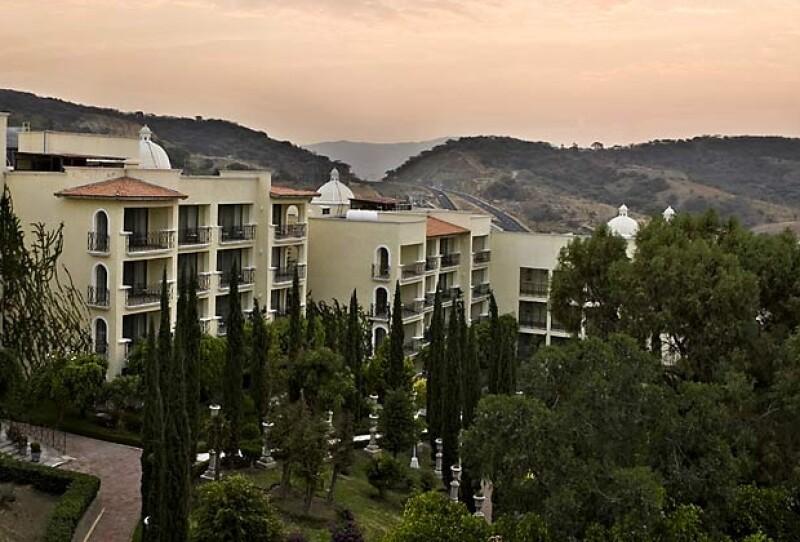 Vista desde el Marriott Ixtapan de la Sal.