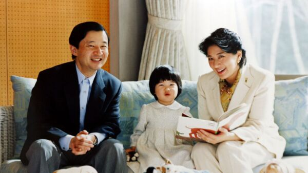 Emperador Naruhito, princesa Aiko y Masako