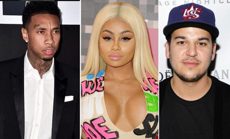 Los rumores sobre una relación entre el hermano de las Kardashian y la ex novia del rapero han hecho reaccionar a este último. ¿Qué dijo?