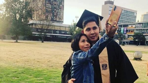 Yalitza Aparicio y su novio Andre Montes