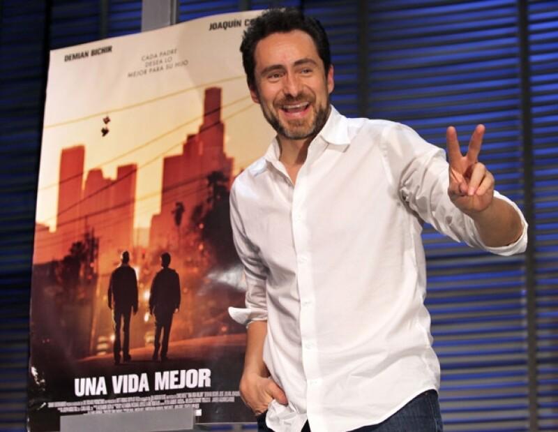 El actor mexicano fue nominado a Mejor Actor por su participación en Una vida mejor.
