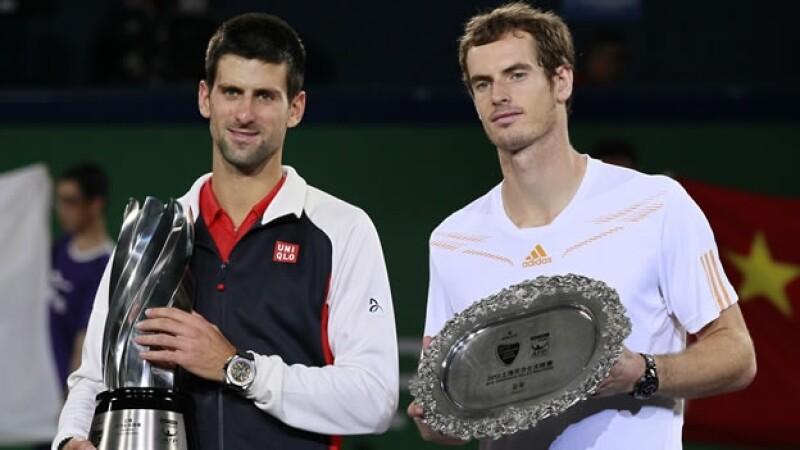 Novak Djokovic gana el Masters de Shanghai a Andy Murray