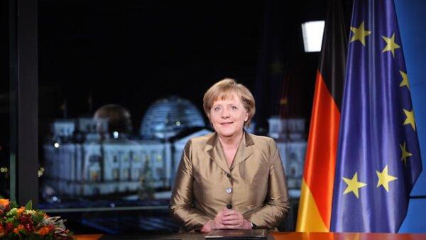 Angela Merkel en el número 1. Con 58 años, la canciller alemana encabezó la lista por séptima vez consecutiva.