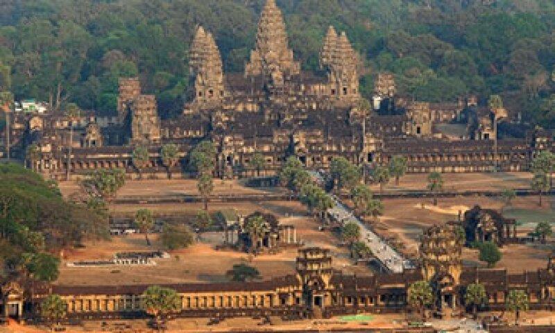 Este templo en Cambodia fue elegido como el mejor lugar por Lonely Planet. (Foto: Getty Images)