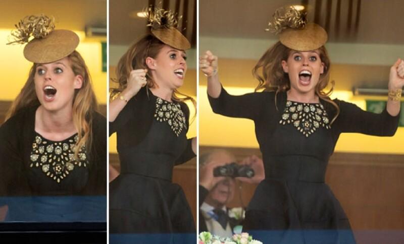 La princesa Eugenia mostró todas sus emociones durante el último día de Ascot.