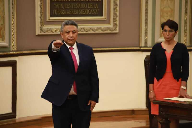 Francisco Romero Serrano, el cuestionado nuevo auditor de Puebla.