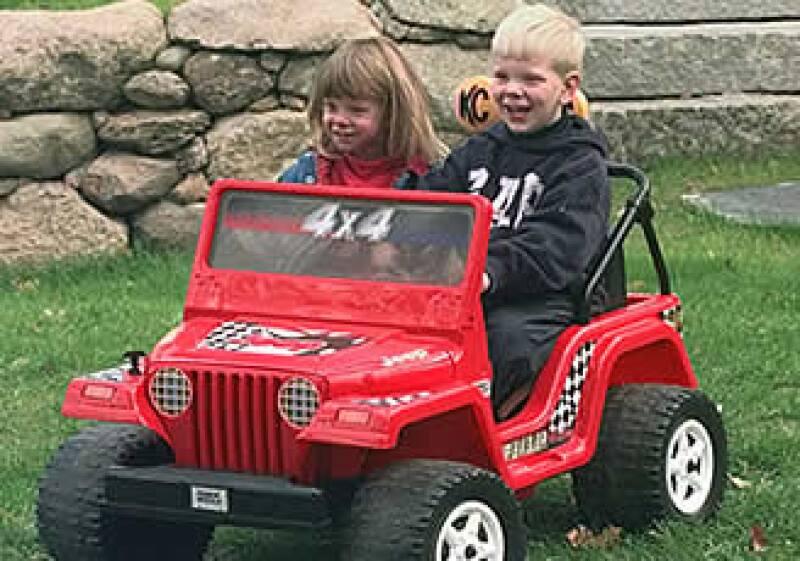 El jeep Power Wheels es uno de los favoritos de los niños. (Foto: AP)