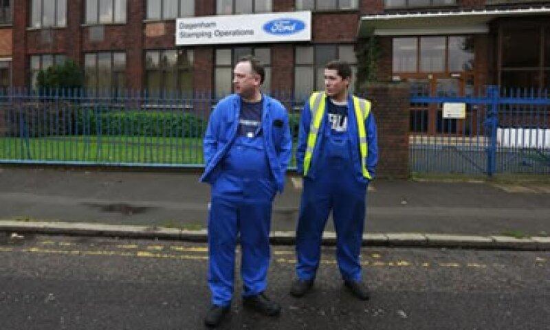 Los despidos de Ford en Gran Bretaña se sumarán a los 4,300 que ya recortó en Bélgica. (Foto: Reuters)