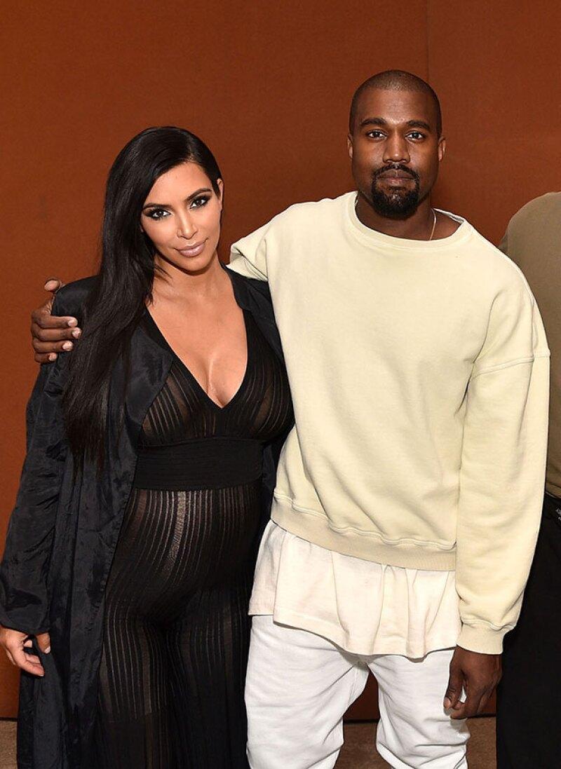 Al parecer la estrella televisiva y Kanye West optaron por continuar con los puntos cardinales después de todo, para nombrar a su segundo bebé.