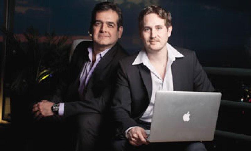 Veramiko, creadora de inTeam, tiene 20 empleados. Vidal Cantú y Guillermo Farias planean escalar su modelo para lo cual han abierto una sede en Miami y ya tienen clientes registrados de Alemania, Chile, Perú y Argentina. (Foto: Adán Gutiérrez)
