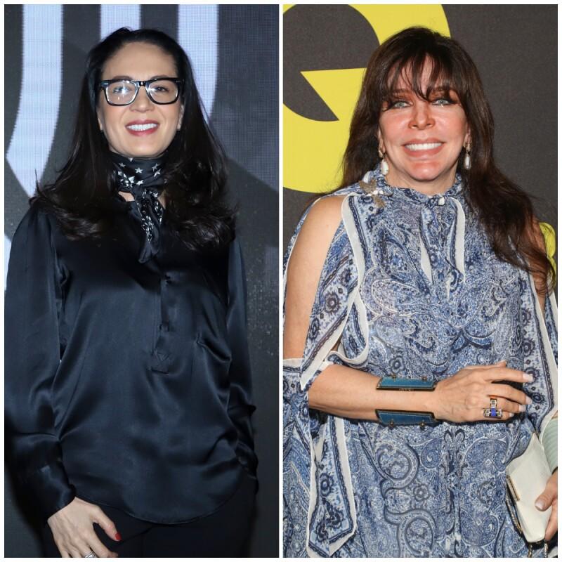 Yolanda Andrade y Verónica Castro