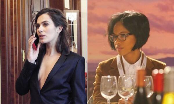 Mar Rodríguez, a la derecha, es la manager de Anna. Se dice que antes de ser su representante fue su fan. Allen es el único talento en su supuesta agencia.