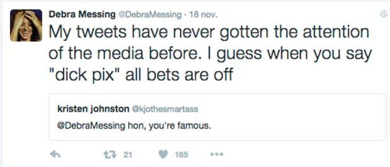 """Mis tuits jamás habían sido relevantes para los medios, creo que si dices """"foto de pene"""" la atención es mayor."""