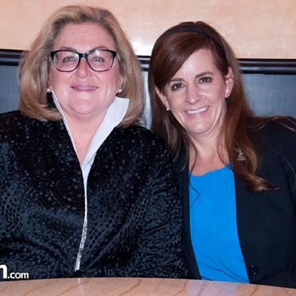 Atenes Rowe y Lisa McDowell