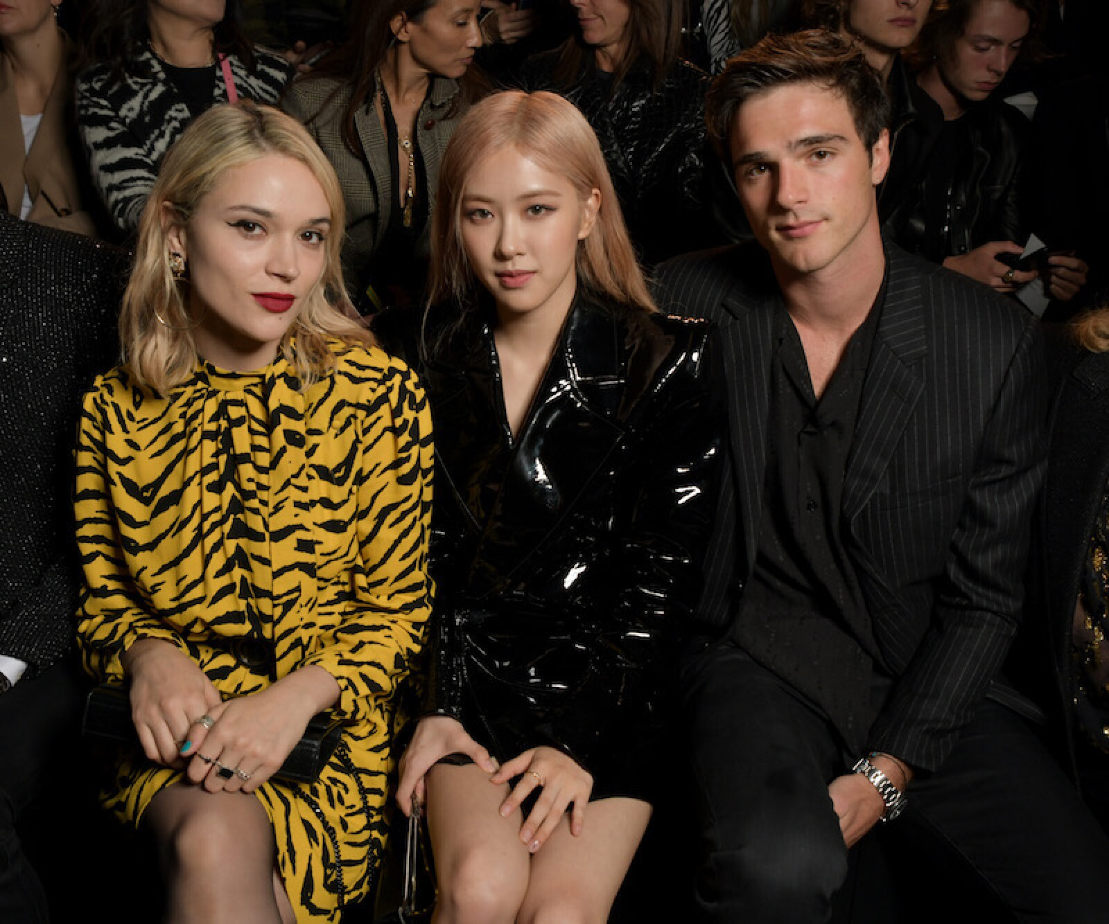 Saint Laurent show, Front Row, Spring Summer 2020, Paris Fashion Week, France - 24 Sep 2019