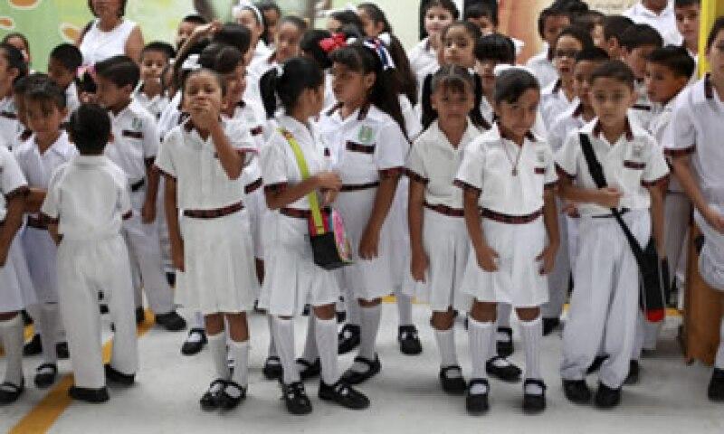 La Canacope presentó el programa Opciones Educativas 2015. (Foto: Cuartoscuro )