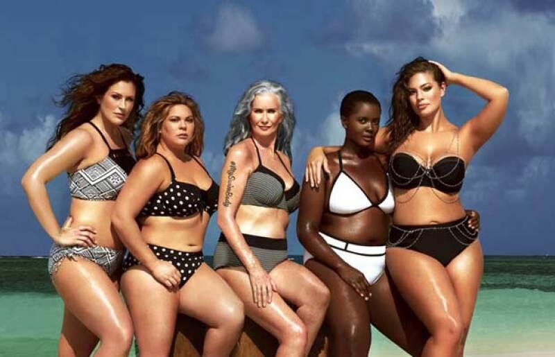 A pesar de los esfuerzos por hacer de la moda una industria más diversa, sólo el 1.4% de las modelos en las campañas publicitarias supera la talla 40.