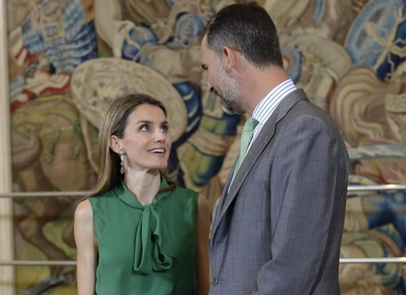 En público la pareja se muestra cariñosa.