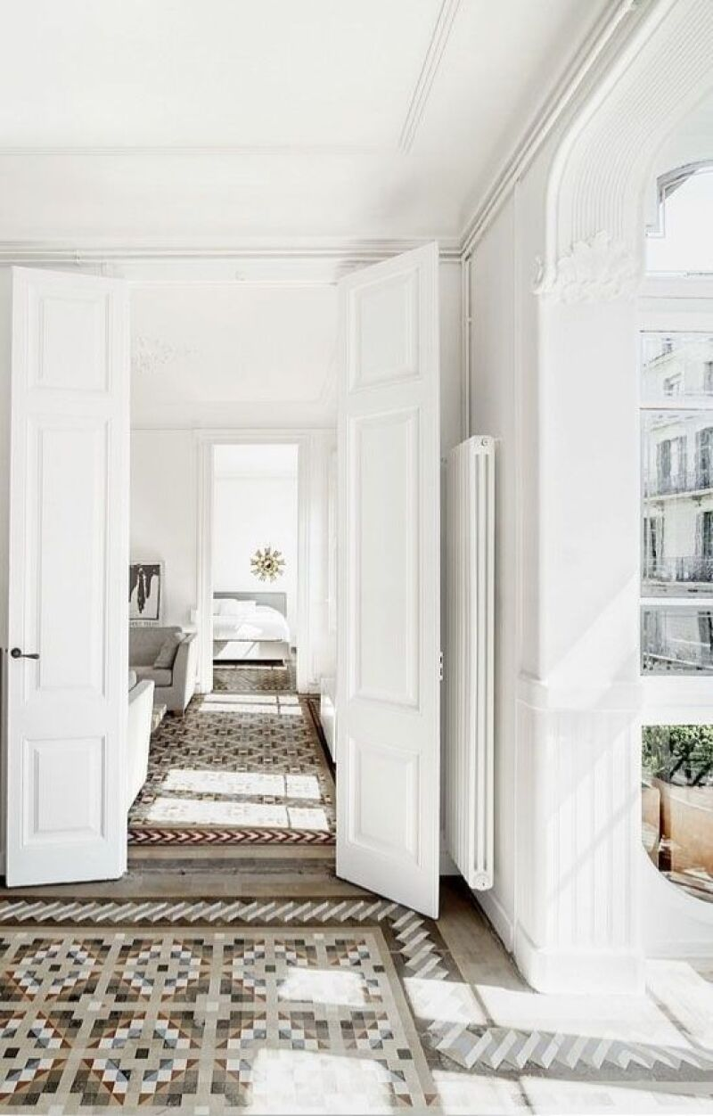 Inmaculado, puro y siempre elegante. El color blanco aporta a los espacios un aspecto impecable y siempre es una apuesta segura.