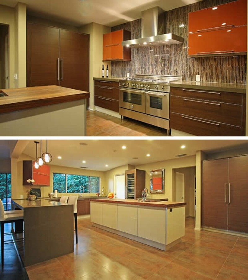 La casa tiene una cocina súper equipada.