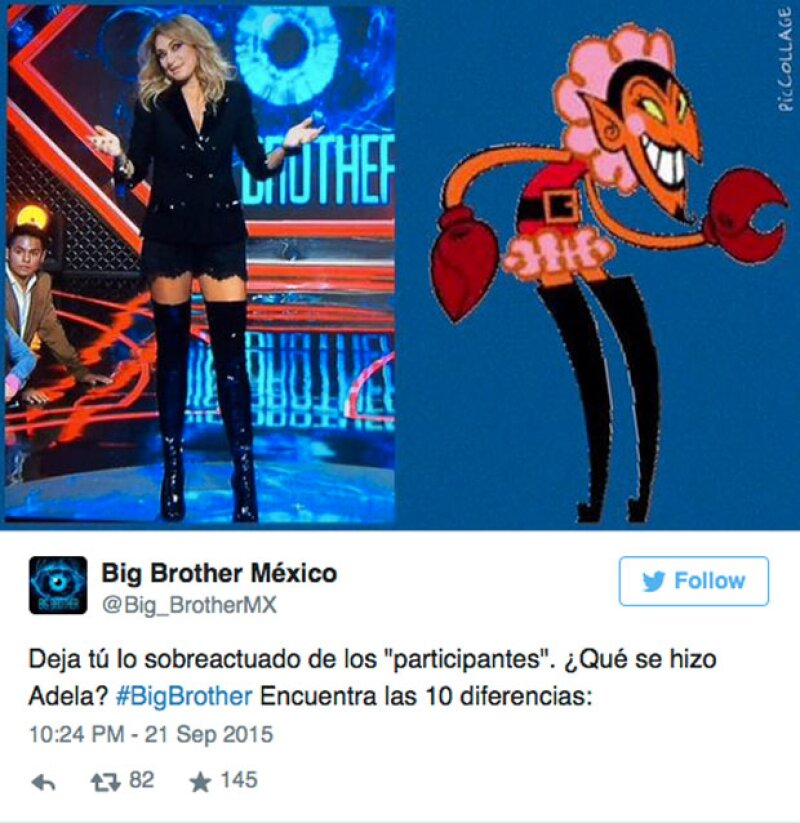 Hasta Big Brother hizo un meme de Adela Micha sobre su apariencia.