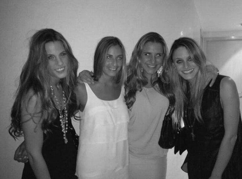 Las creadoras, María Andrea Muriel, Anne de la Parra, Michelle Aziz y Cynthia Sesin.