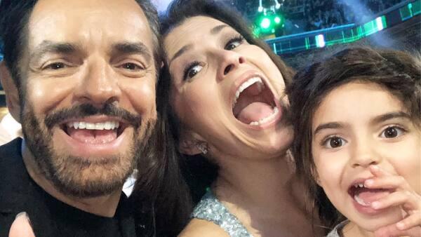 Eugenio Derbez, Alessandra Rosaldo y Aitana