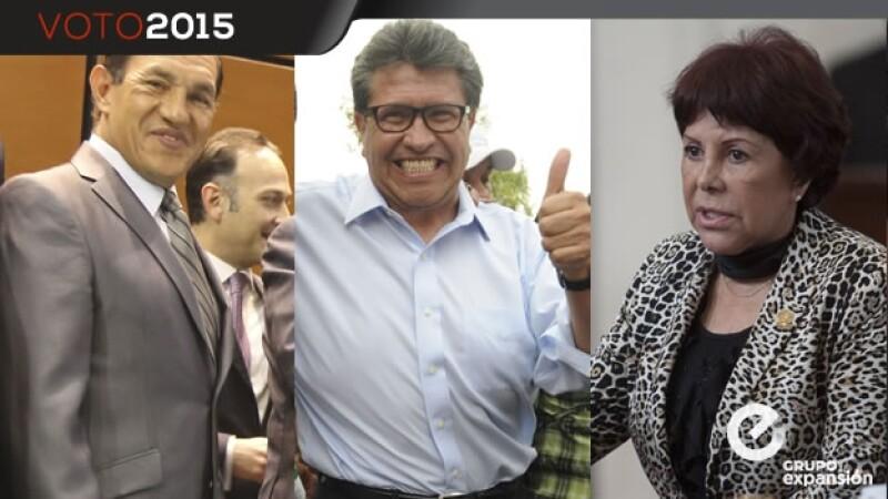 Candidatos en Cuauhtémoc