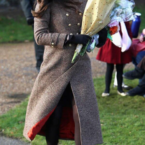 Kate Middleton en el día de Navidad
