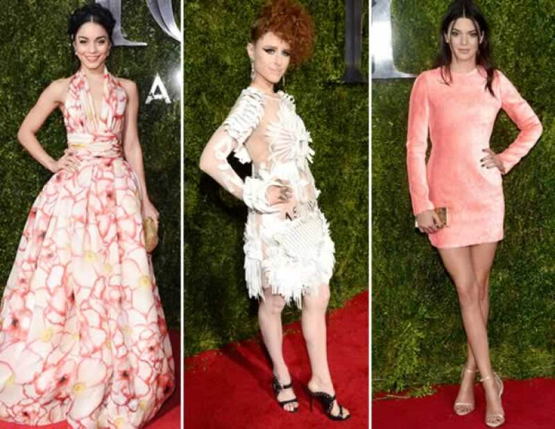 Vanessa Hudgens, Kiesza y Kendall Jenner eligieron diseños que no les favorecieron.