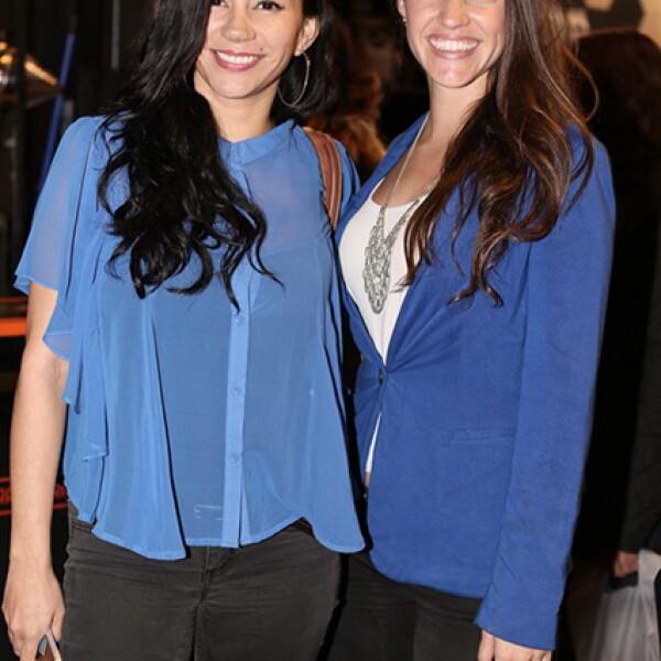 Vanessa Vielma y Carolina Grove