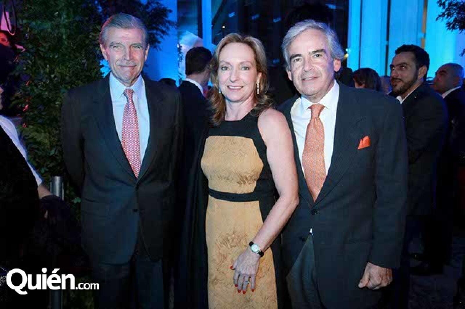 Luis Gálvez,Inés Villaseñor y Lazaro Álvarez