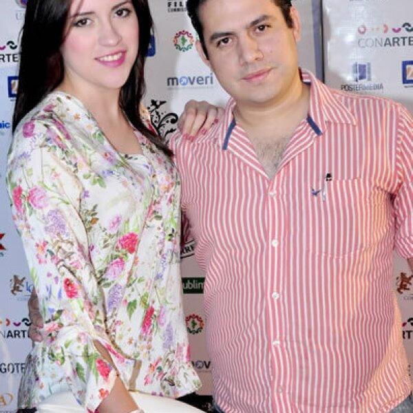 Cassndra Cazares y David Medina