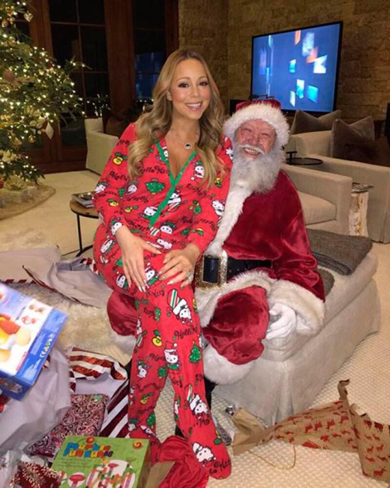 Navidad es una de las fechas favoritas de Mariah Carey.