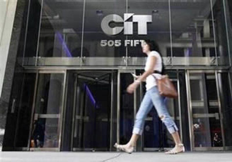 CIT Group recibiría un préstamo privado de 3,000 mdd, pero no será rescatado por el Gobierno de EU. (Foto: Reuters)