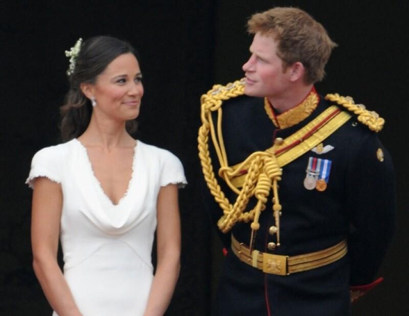 Pippa y Harry, jugaron roles principales en la boda real y podrían también ser padrinos del próximo heredero.