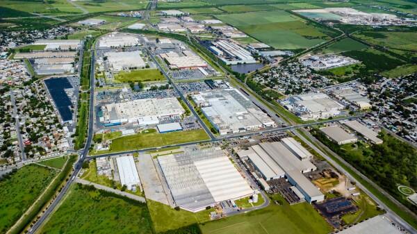 El parque industrial Matamoros Norte, desarrollado por Finsa, está ubicado a seis kilómetros del cruce internacional con Estados Unidos.