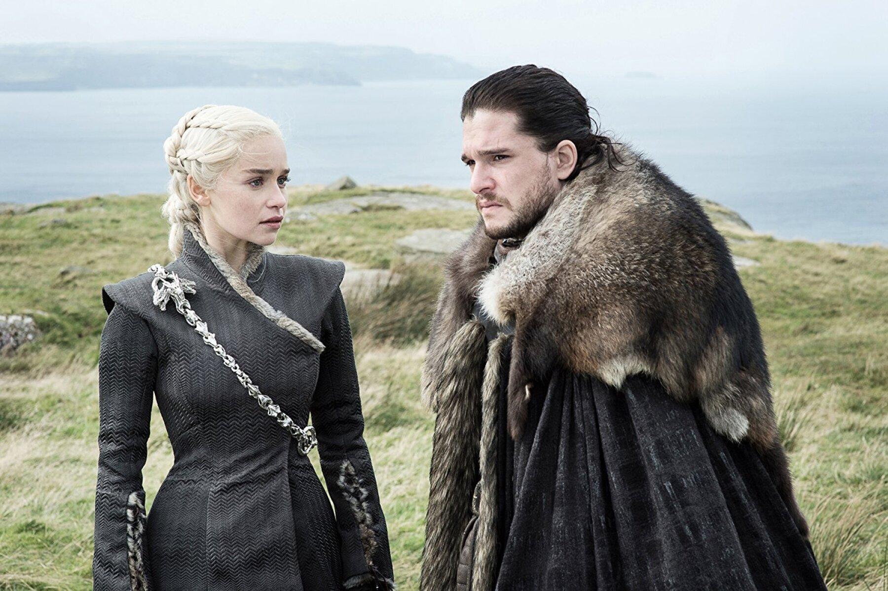 Jon y Daenerys