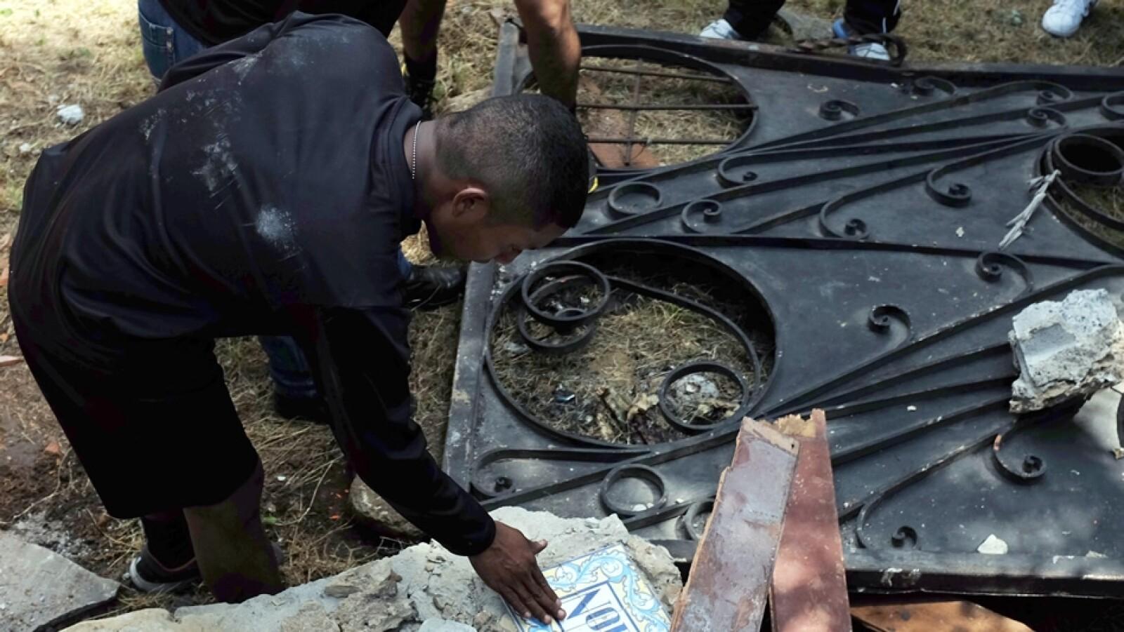 demolicion de la casa de antonio noriega
