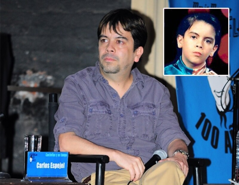 En Chiquilladas, Carlos Espejel saltó a la fama por Carlinflas y Chiquidrácula.