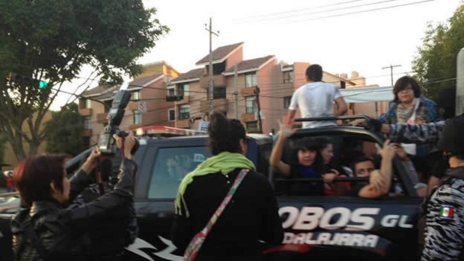 arrestos en protestas antipeña nieto