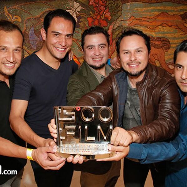 Carlos García,Roger Gómez,Juan Campuzano,Helios Nieto e Ismael Ramírez