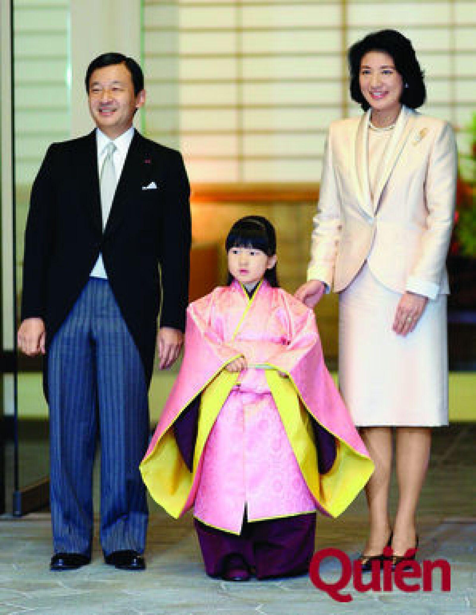 Príncipe Naruhito de Japón, Princesa Aiko de Japón, Princesa Masako de Japón