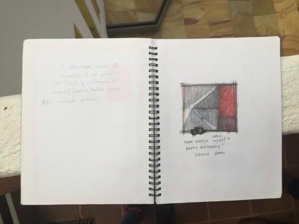 La firma de Lyndon Neri en la Bitácora Gilardi