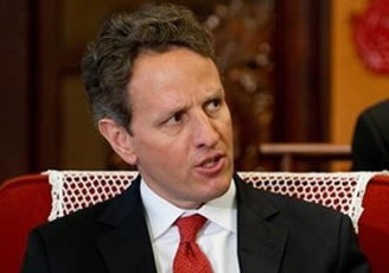 Timothy Geithner propuso medir a las instituciones bancarias de Europa. (Foto: AP)