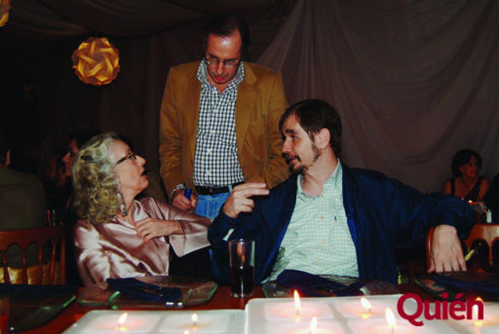 Martha Lamas, Antonio Crespo, Agustín Basave