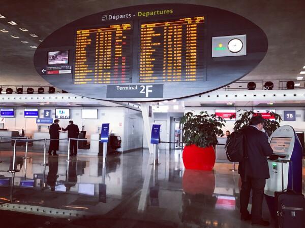 Aeropuerto francia